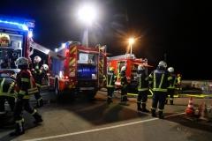 Vollbrand von Altholz-Container durch Passanten eingedämmt